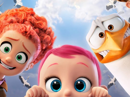 """The cast of the animated feature """"Storks."""""""