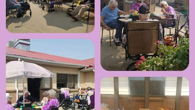 Prairie View Village held its first activities in months. The village is also still accepting cards for residents from the community to brighten their days.
