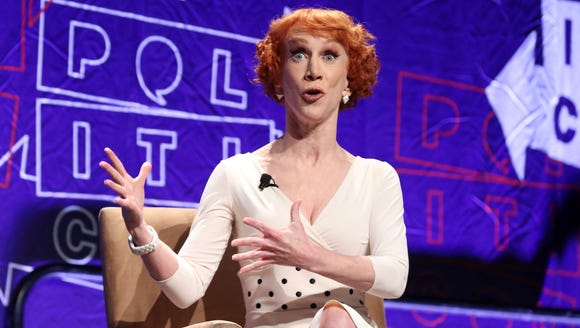 Kathy Griffin was just one of a number of celebrities who reacted to Wednesday's firing of Attorney General Jeff Sessions.