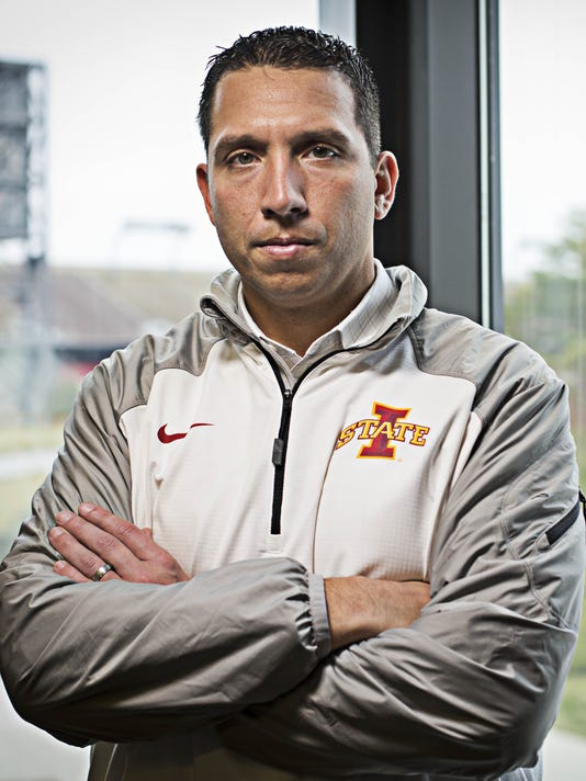 Image result for Matt Campbell iowa state