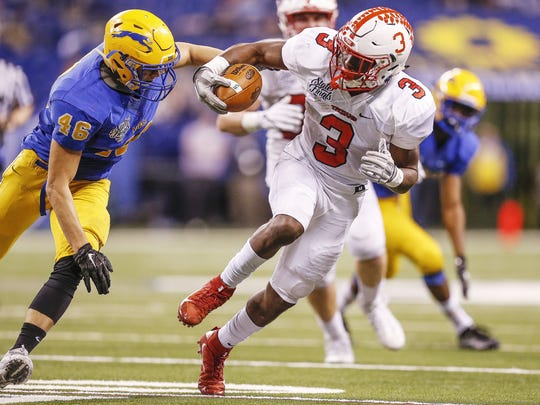 In his lone season in Indiana, Center Grove's Russ Yeast finished second in IndyStar Mr. Football voting.