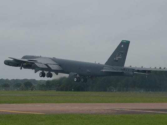 B-52 Stratofortresses execute Saber Strike 17 missions
