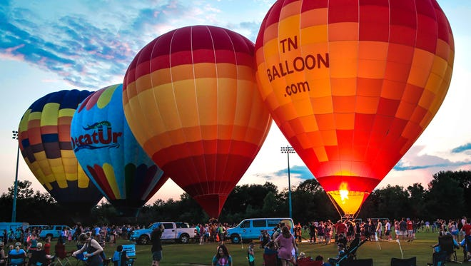 The Hot Air Balloon Classic was held at Richard Siegel Soccer Park in Murfreesboro on Saturday.