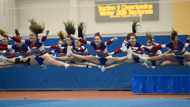 Fairport during their winning performance in Division 1-Large.