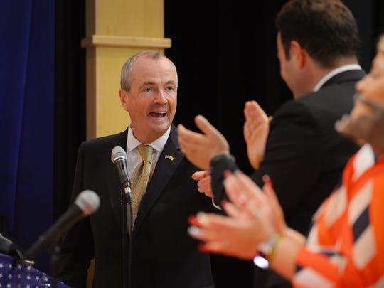 New Jersey Governor Phil Murphy attended Mayor Andre Sayegh's swearing-in ceremony earlier this month. Paterson community leaders and political figures saw Murphy's election as a new opportunity for the city.