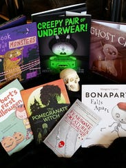 New Halloween-themed books for 2017.
