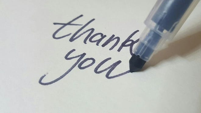 Researchers found recipients cared less about the words written in a thank you note than the fact the sender bothered to write at all.
