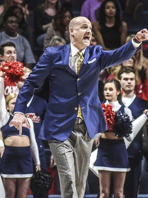 Andy Kennedy will lead his Ole Miss Rebels into New Jersey for a first-round NIT game against Monmouth.