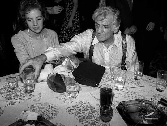 Leonard Bernstein partied with his daughter Jamie at