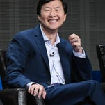 """Ken Jeong participates in the """"Dr. Ken"""" panel at the Disney/ABC Summer TCA Tour at the Beverly Hilton Hotel on Tuesday, Aug. 4, 2015, in Beverly Hills, Calif. (Photo by Richard Shotwell/Invision/AP)"""