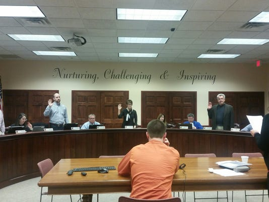 Hanover reorganization meeting