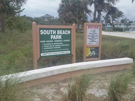 South Beach Park in Fort Pierce.