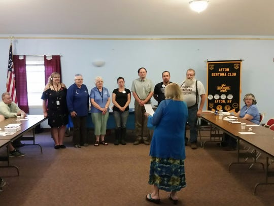 Afton Sertoma dedicated a hearing loop.