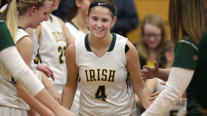 Rianna Gerrits and the Freedom girls' basketball team earned a top seed in the WIAA Division 3 playoffs following seeding meetings this past weekend. Wm. Glasheen/USA TODAY NETWORK-Wisconsin