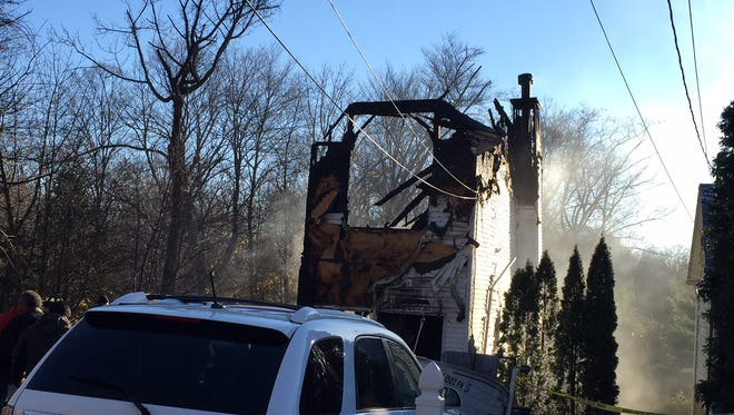 A home at 121 White Meadow Lake was destroyed by an early morning fire.
