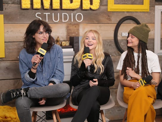 'Miseducation' director Desiree Akhavan, left, Chloë