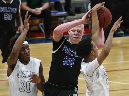 Highly-recruited out of Bolton, Jaylen Fisher has been a standout on a good TCU team but could miss the remainder of the season.