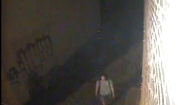 The pictured suspects vandalized (tagged) a building