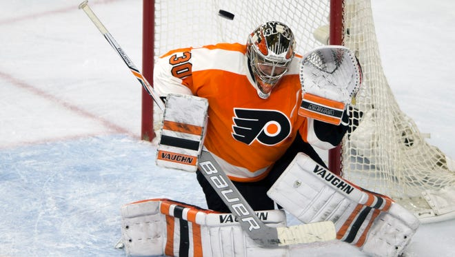 Michal Neuvirth made 28 saves in a Game 6 loss to the Washington Capitals.