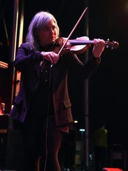 Violin player Charity Rose Thielen of The Head and