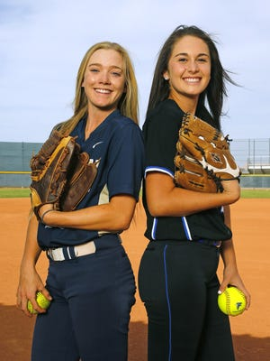 Mara Kemmer and Nic Conway were both named to the All-Arizona softball team for 2016.