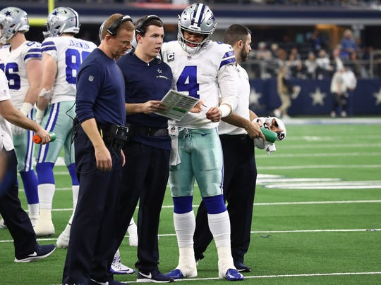 Offensive Coordinator Kellen Moore managed to maintain a impressive balance on first down to avoid being as predictable as former play-caller Scott Linehan.