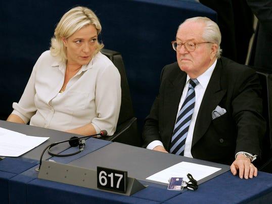 AP France Far Right Feud