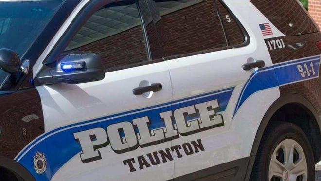 A Taunton police cruiser.