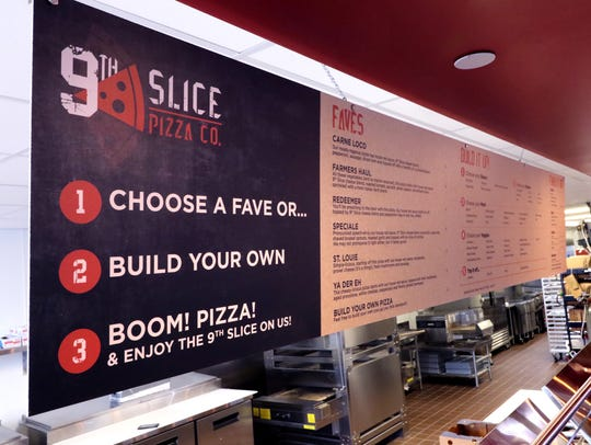 Diners can select from six Fave pizzas, or build their