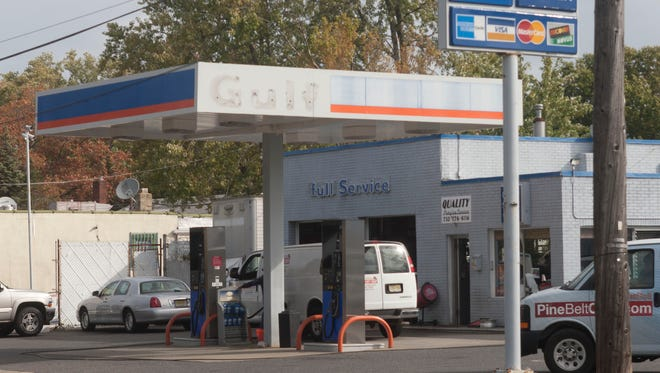 This gasoline station on Route 35 in Neptune, N.J., was selling gasoline this week for $2.85 a gallon.