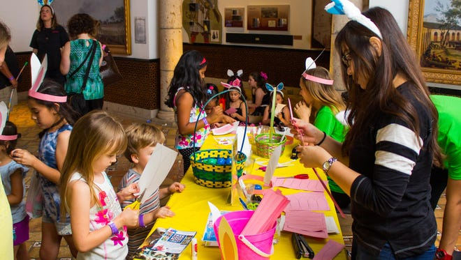 The Corpus Christi Museum of Science and History hosted Eggstravaganza on Saturday, April 15, 2017.