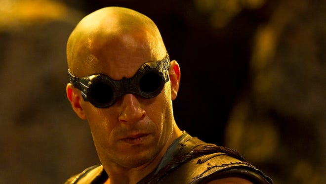 Vin Diesel is back for the third time as 'Riddick.'