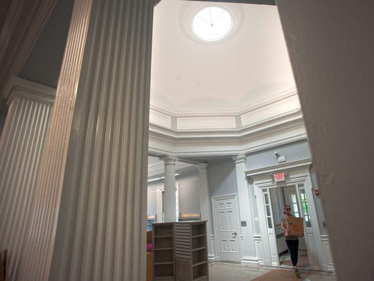 Renovations to Haddonfield's Public Library will allow
