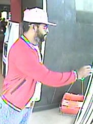 Police are looking for this man after surveillance