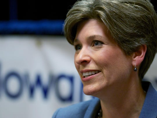 """We want that message to turn into actual pieces of legislation which will move our country in the right direction,"" Sen. Joni Ernst said in an interview Friday."
