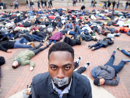 Police Killings Protests Michigan