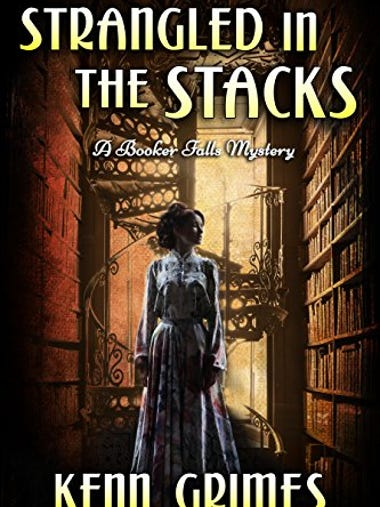 Strangled in the Stacks: A Booker Falls Mystery (Cozy