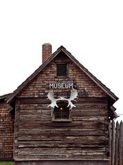 Exhibits at the Madeline Island Museum tell the history