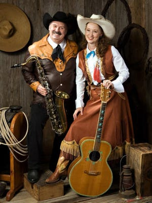 Miss Devon and the Outlaw perform from 5-7 p.m. on Saturday, Nov. 11, at historic Morgan Hall, 109 E. Pine St.