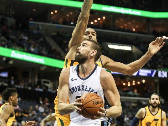 Grizzlies vs. Jazz
