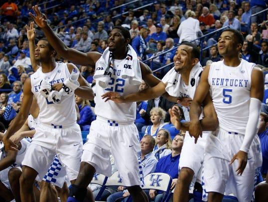 Kentucky Wildcats 2014 15 Men S Basketball Roster: Poll: How Would Kentucky Basketball Do Against NBA Teams?