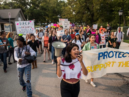 Image result for images of DACA protests in Nashville