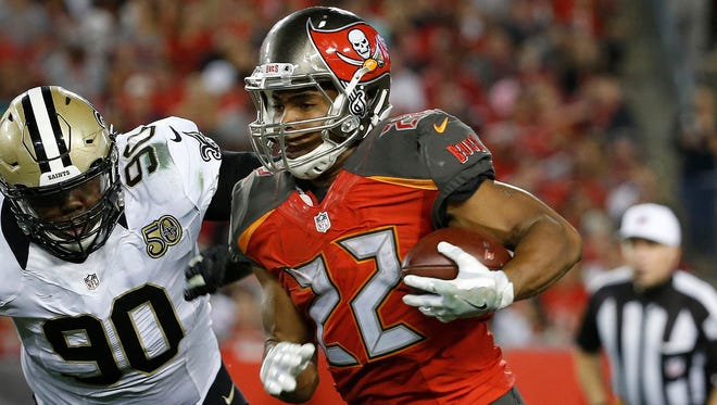 Buccaneers RB Doug Martin was a first-round pick in 2012.