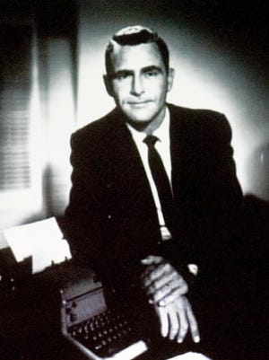 """Rod Serling, creator and star of """"The Twilight Zone,"""" grew up in Binghamton."""