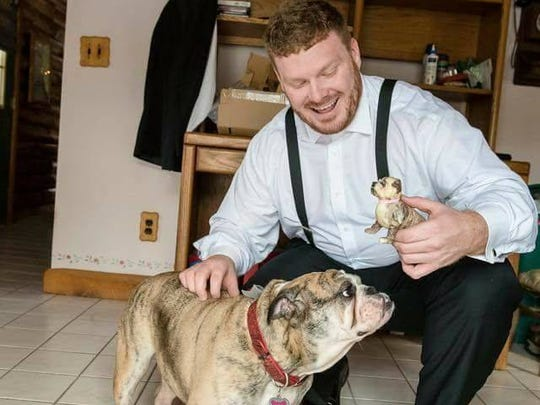 Matthew Spott and his wife described their dog, Matilda,