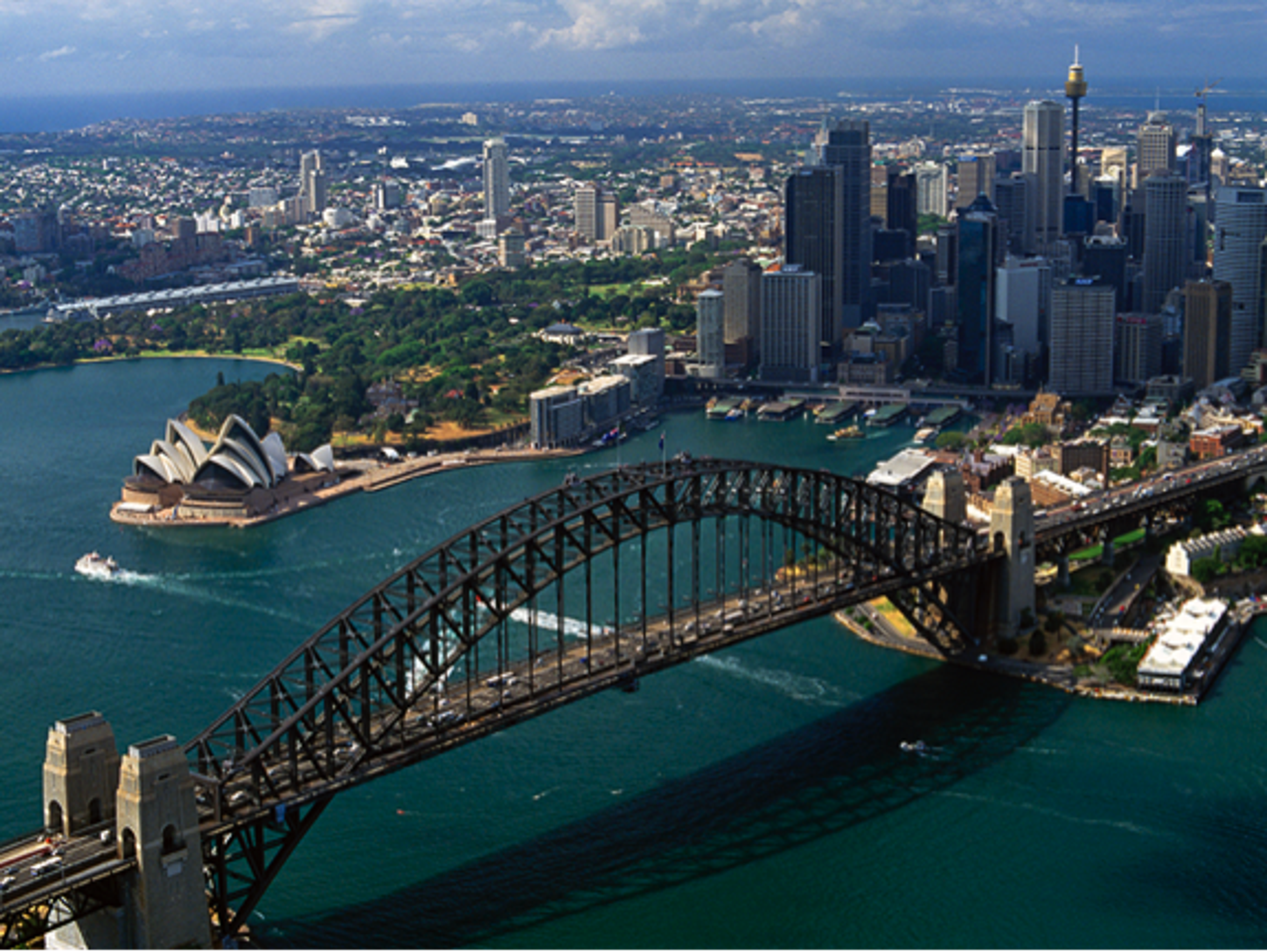 Complete your trip with this beautiful view of Sydney