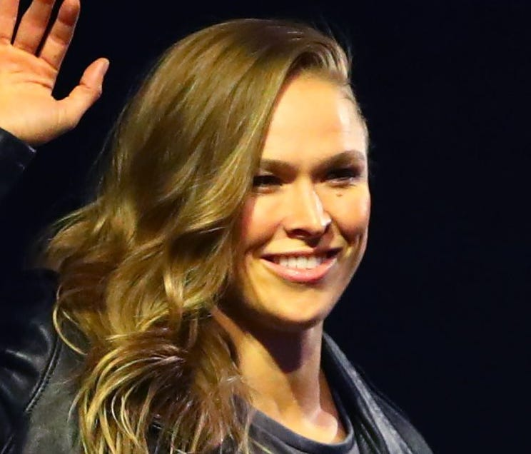 Ronda Rousey is making waves with WWE and preparing for doomsday.