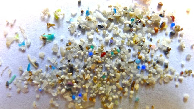 Microplastic particles in our oceans continue to be of concern.