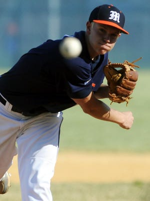 Former Millville pitcher Aaron Cox was drafted by the Angels in the 19th round on Wednesday.