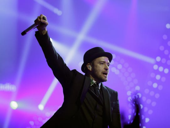 Justin Timberlake at iHeart Radio